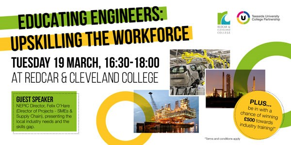 Redcar & Cleveland College - Educating Engineers: Upskilling the Workforce