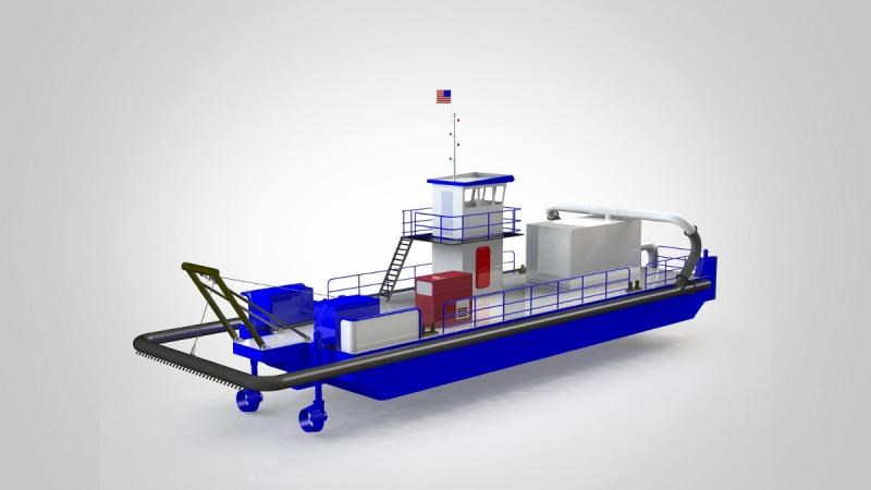 Royal IHC awarded order by NCSPA for water injection dredger