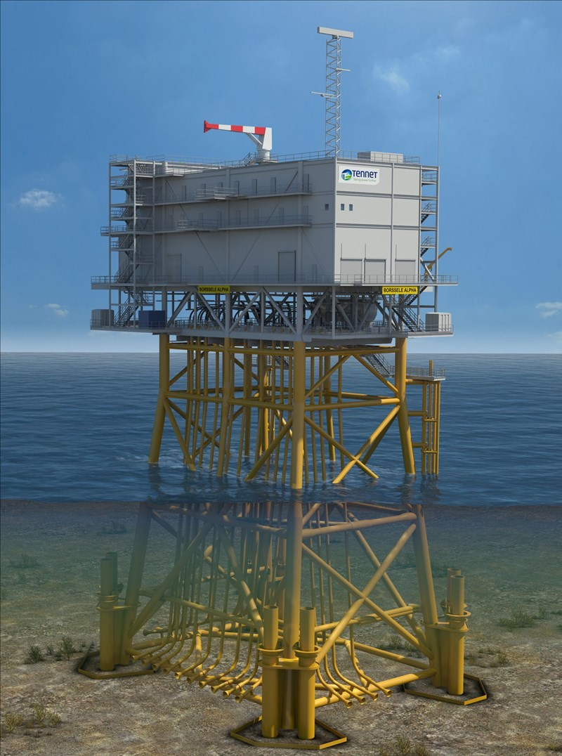 ENGIE Fabricom and Smulders (Eiffage Métal) win Hollandse Kust Noord offshore transformer station contract