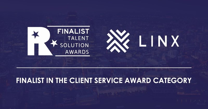 Linx recognised for service excellence with Talent Solution award shortlist