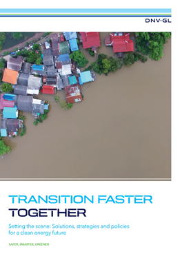 DNV GL - Transition Faster report series: Accelerating the energy transition together