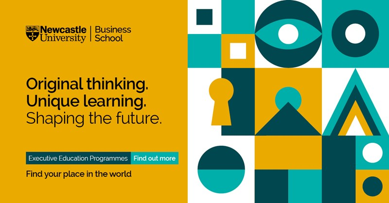Develop strong leadership to thrive through uncertainty  Part time masters programmes to develop leadership skills  Starting this October at Newcastle University Business School