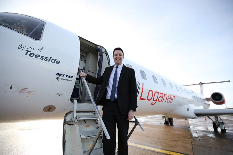 Loganair launches Teesside International service to London Heathrow